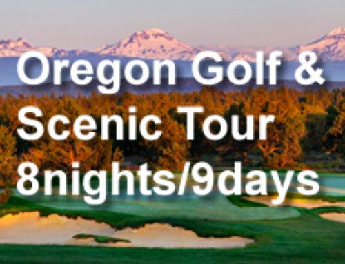 Oregon Golf & Scenic Tour 8-nights/9-days