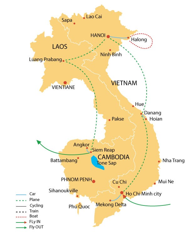 Discover Indochina