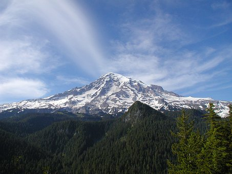 Mtrainier-freepublicdomainPixabay