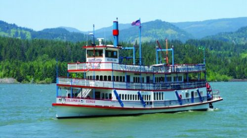 Columbia River Gorge Sternwheeler Brunch Cruise & Mount Hood Tour