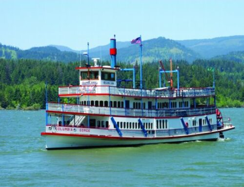 Columbia River Gorge Sternwheeler Brunch Cruise & Mount Hood Tour