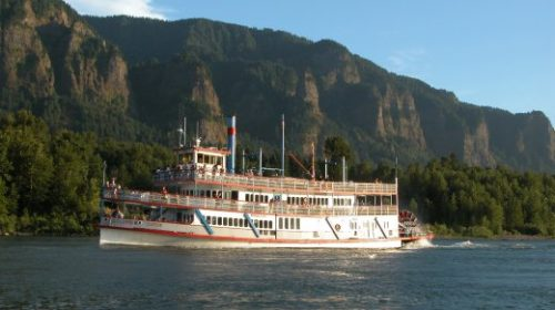 Landmarks of the Gorge Sternwheeler River Cruise & Columbia River Gorge Tour